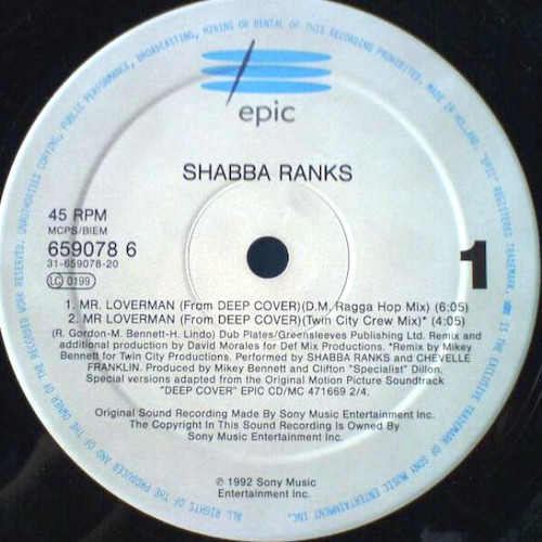 Shabba Ranks – Mr. Loverman – A