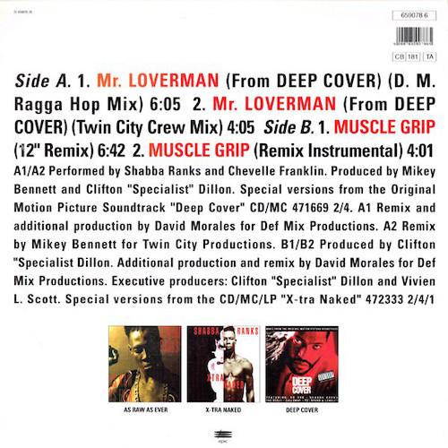 Shabba Ranks – Mr. Loverman – Back