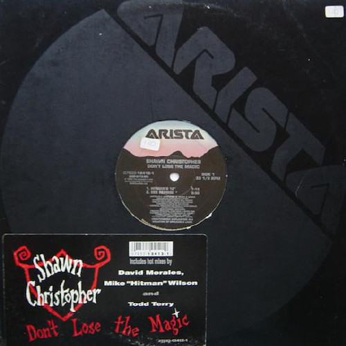 Shawn Christopher – Don't Lose The Magic – Front