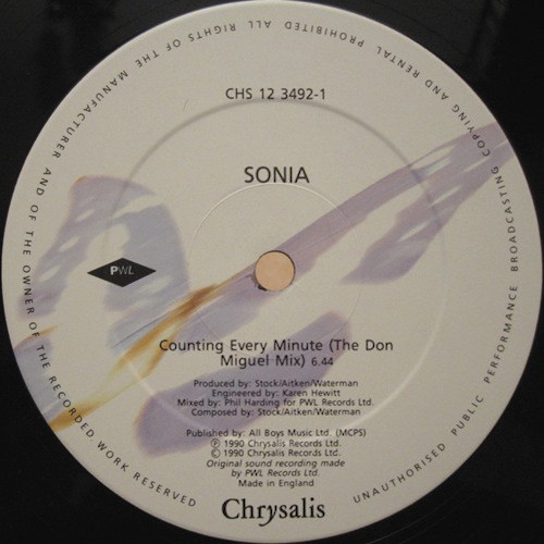 Sonia-Counting-Every-Minute-A