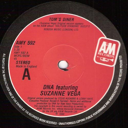 Suzanne Vega – Tom's Diner – A