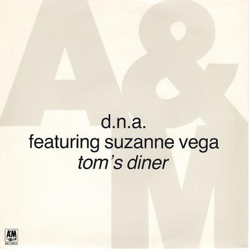 Suzanne Vega – Tom's Diner – Front