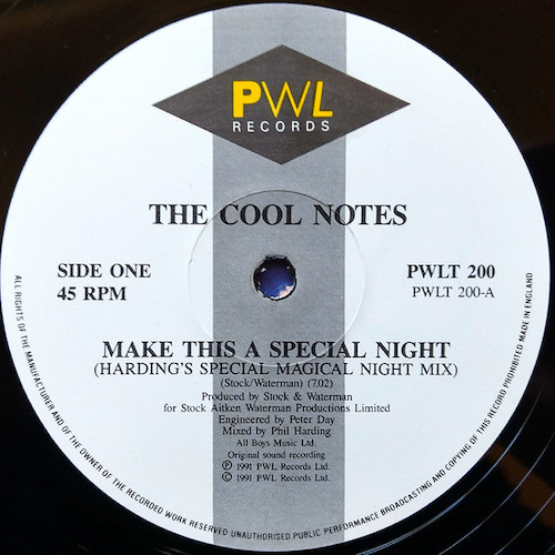 The Cool Notes – Make This A Special Night – A