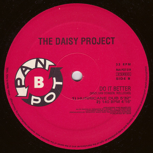 The Daisy Project – Do It Better – B