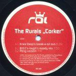 The Rurals – Corker – Front