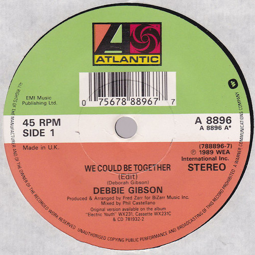 Debbie Gibson – We Could Be Together 7 A
