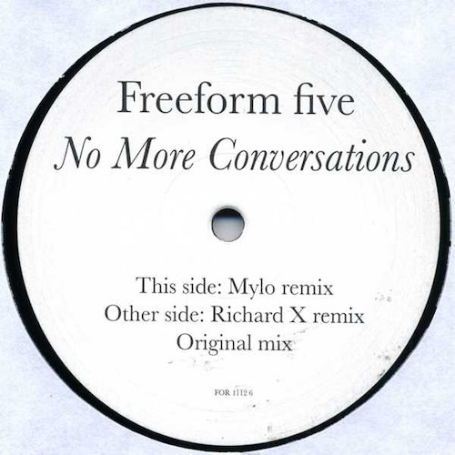 Freeform Five – No More Conversations – A