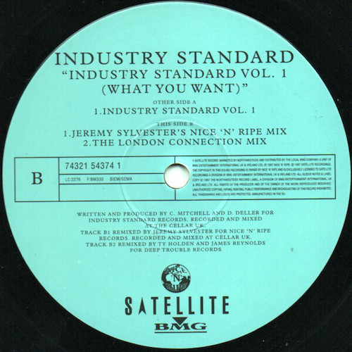 Industry Standard – Vol. 01 (What You Want) – B