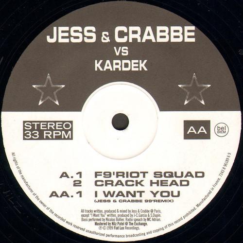 Jess & Crabbe – F9 Riot Squad – B