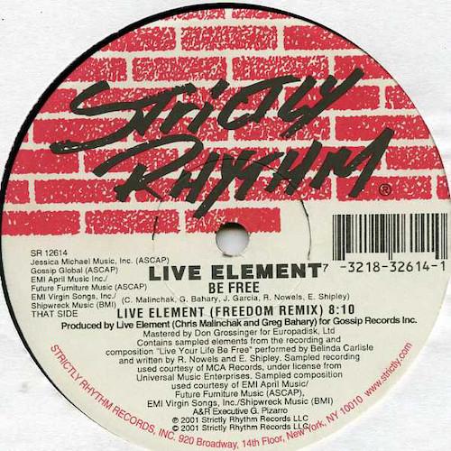 Live-Element-Be-Free-B
