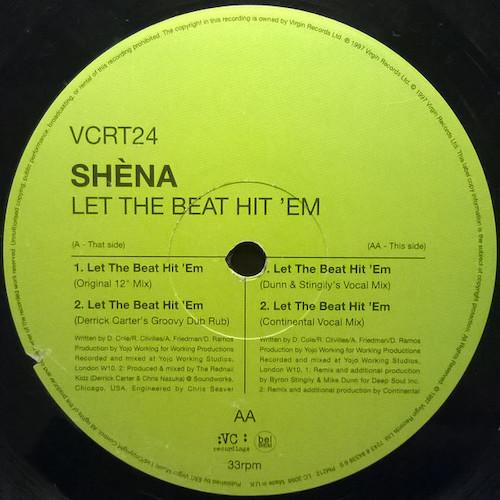 Shena – Let The Beat Hit 'Em – B