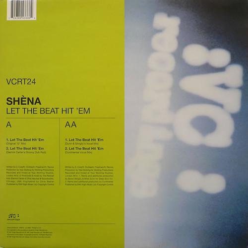 Shena – Let The Beat Hit 'Em – Front