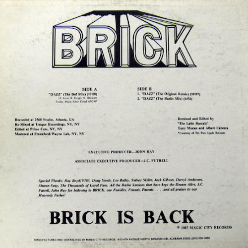 Brick – Dazz – Back