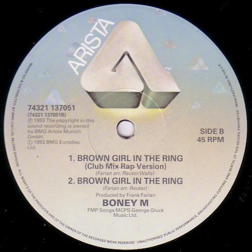 Boney M – Brown Girl In The Ring – B