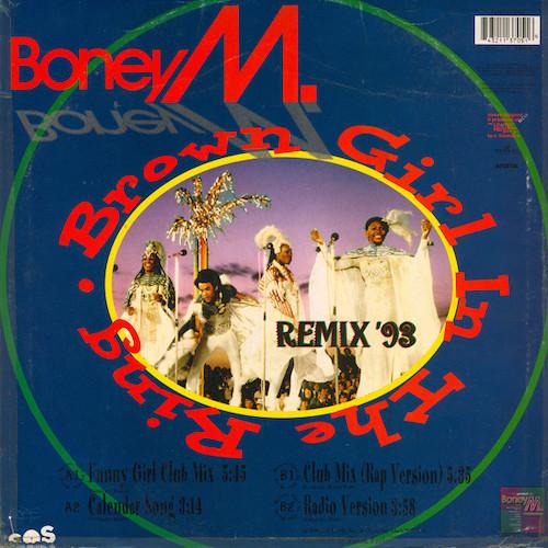 Boney M – Brown Girl In The Ring – Back