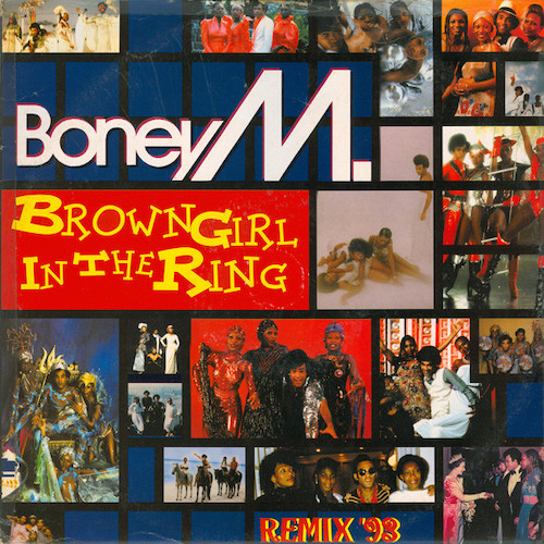 Boney M – Brown Girl In The Ring – Front