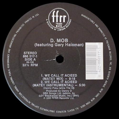 D Mob – Trance Dance – A