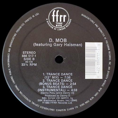 D Mob – Trance Dance – B