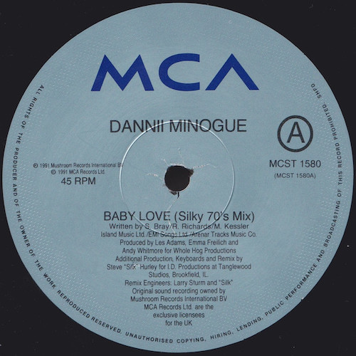 Dannii – Baby Love – A