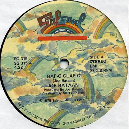 Joe Bataan – Rap O Clap O – A