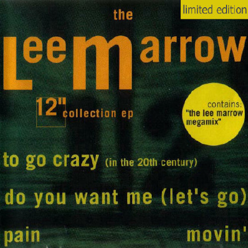 Lee Marrow – 12 Collection – Front