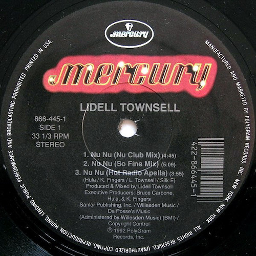 Lidell Townsell – Nu Nu – A