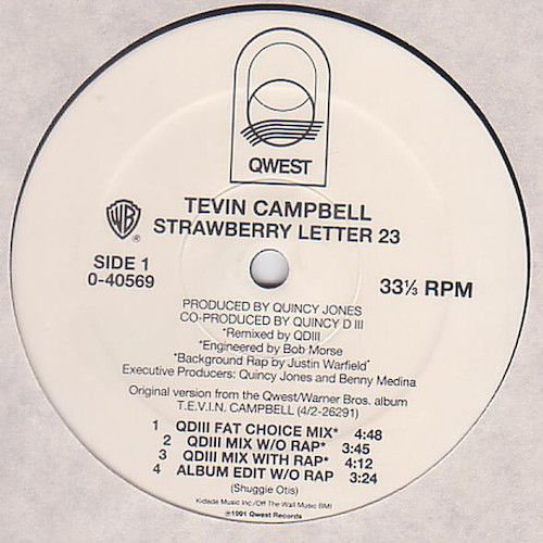 Tevin Campbell – Strawberry Letter 23 – A