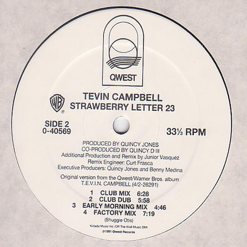 Tevin Campbell – Strawberry Letter 23 – B