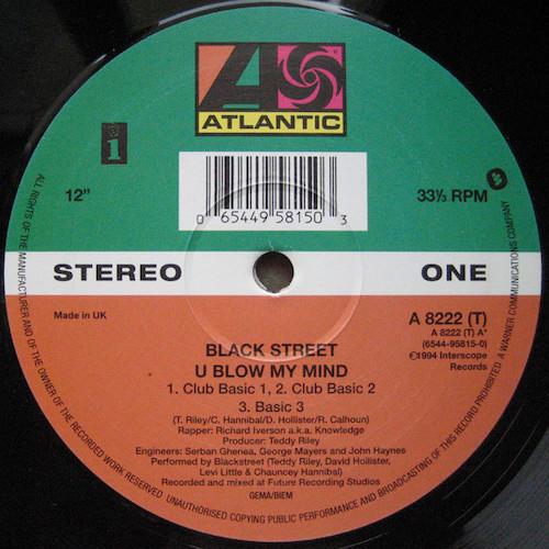 Blackstreet – U Blow My Mind – A