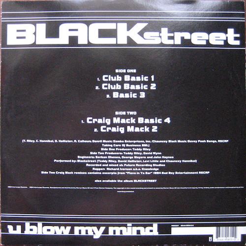 Blackstreet – U Blow My Mind – Back