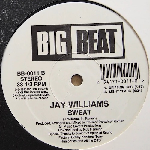 Jay Williams – Sweat – B