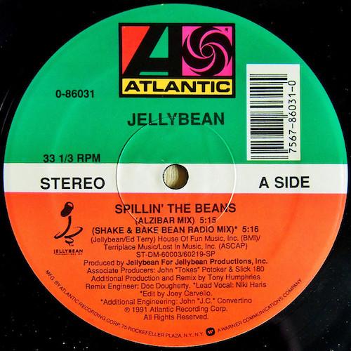 Jellybean – Spillin' The Beans – A