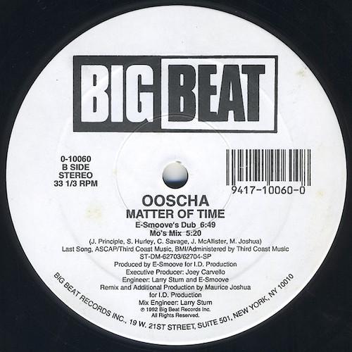 Ooscha – Matter Of Time – B